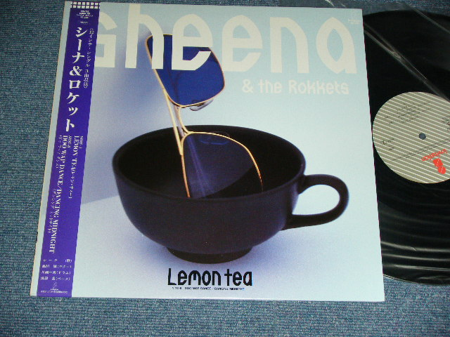 "シーナ&ザ・ロケッツ SHEENA & THE ROKKETS - LEMON TEA / 1985 JAPAN ORIGINAL Used 12"" With OBI"